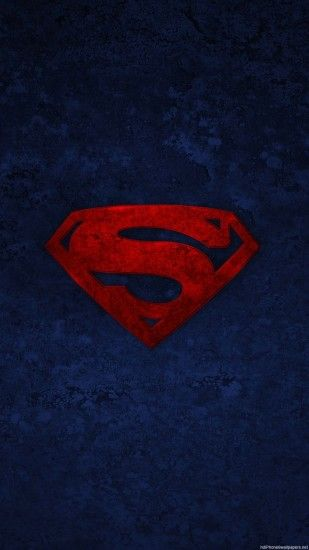1080x1920 HD Superman logo iphone 6 wallpaper