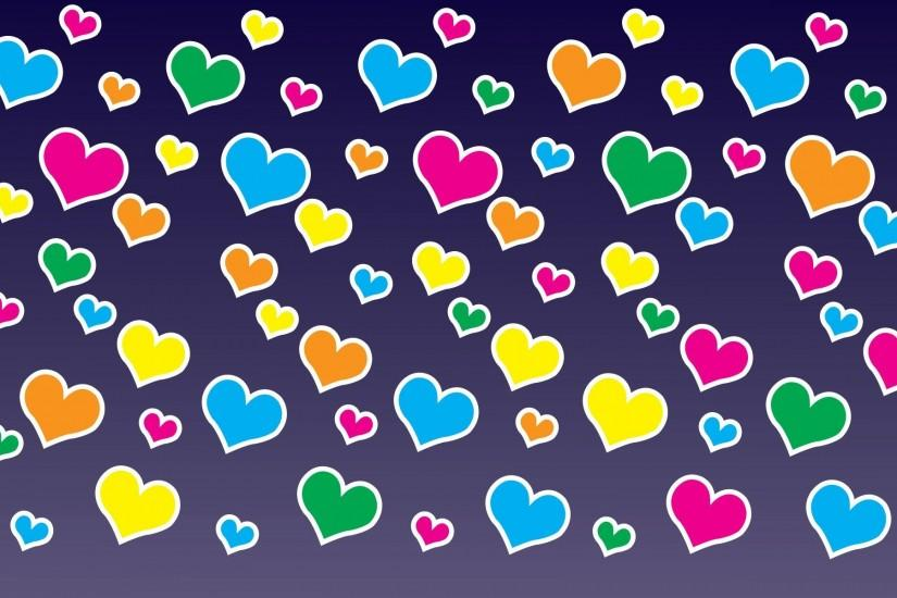 vertical hearts background 1920x1200