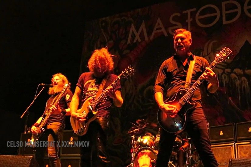 MASTODON - Black Tongue - KNOTFEST 2015, San Bernardino, California  10.24.2015