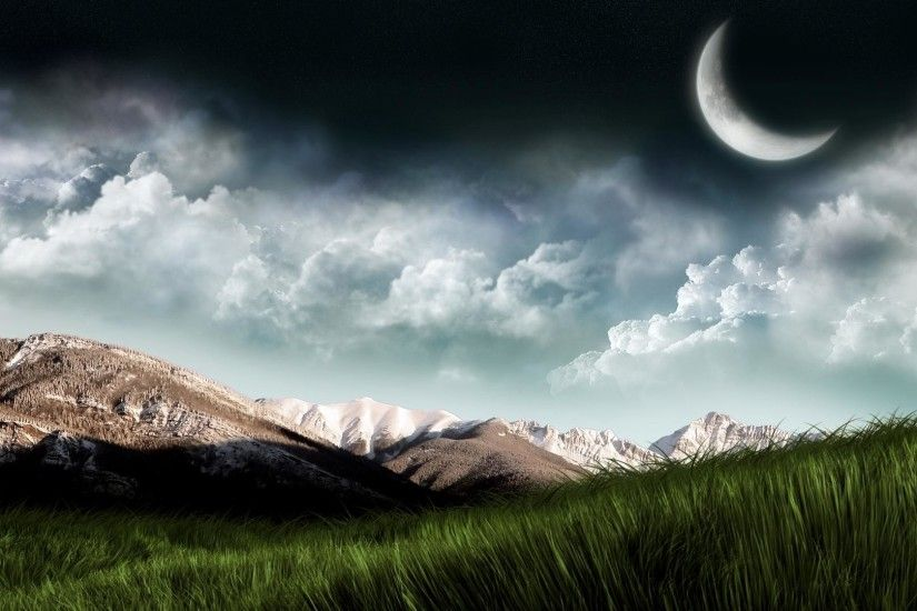1920x1080 high definition Dream grassland sky backgrounds wide  wallpapers:1280x800,1440x900,1680x1050 -