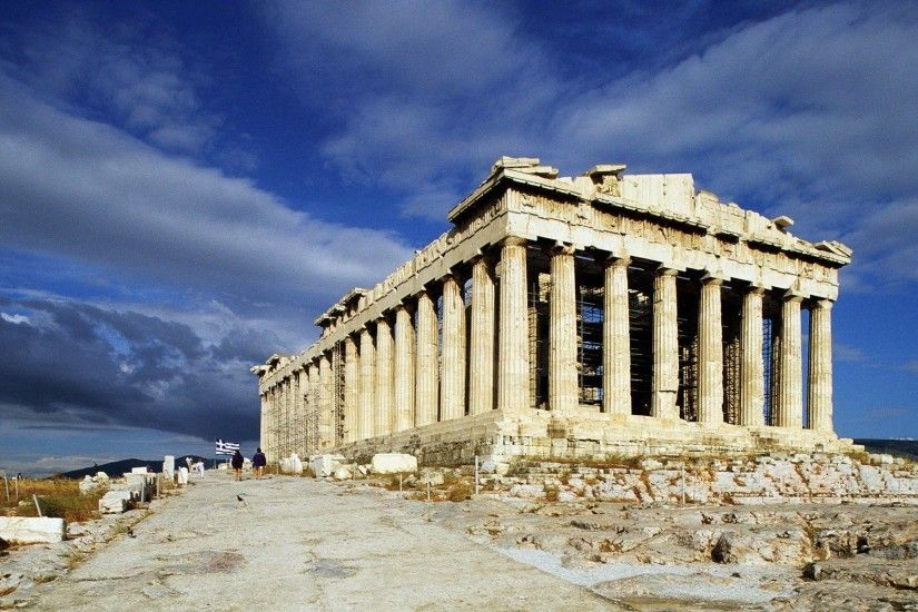 The Parthenon Acropolis Athens Greece Hd Widescreen Wallpaper