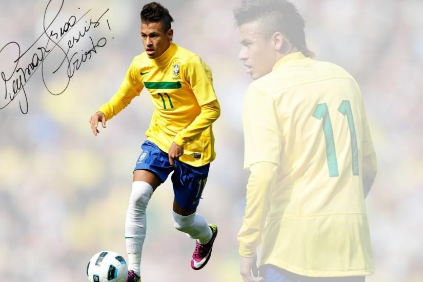 Neymar Brazil Desktop Wallpaper