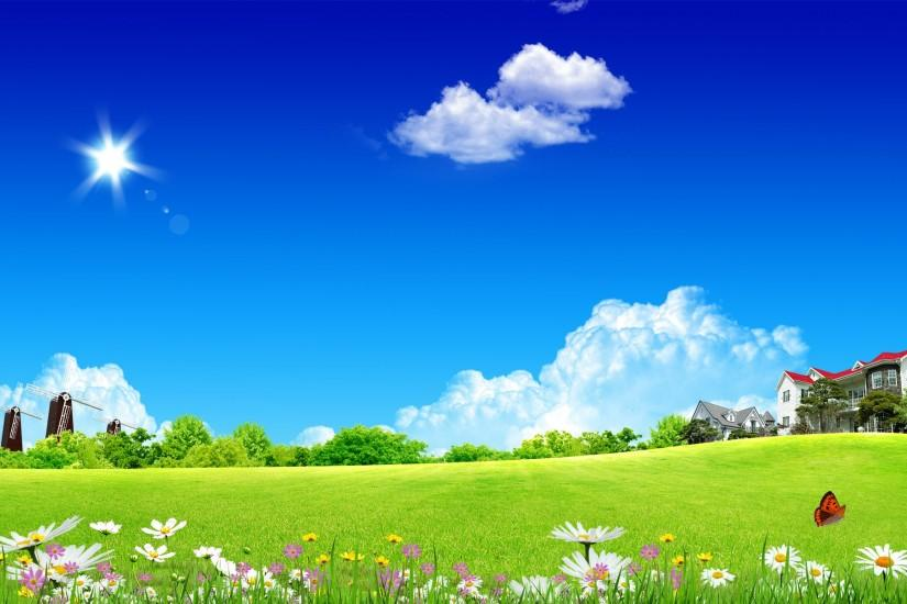 Free Scenery Wallpaper – Includes a Clean Home Sky, What an Amazing .