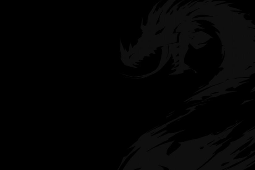 black wallpaper 1920x1080 computer