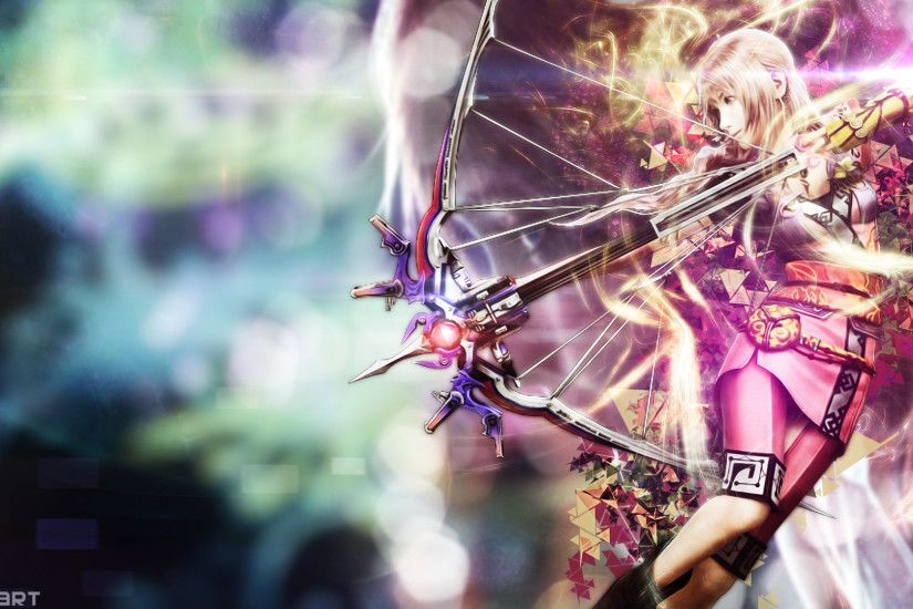 ... DanteArtWallpapers Final Fantasy XIII 2 Serah Wallpaper by  DanteArtWallpapers