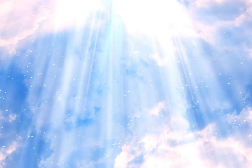 Heavenly Rays Clouds 2 Loopable Background Motion Background - VideoBlocks