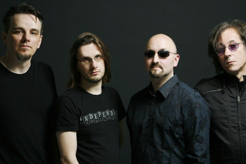 1920x1080 Wallpaper porcupine tree, bald, glasses, band, photoset