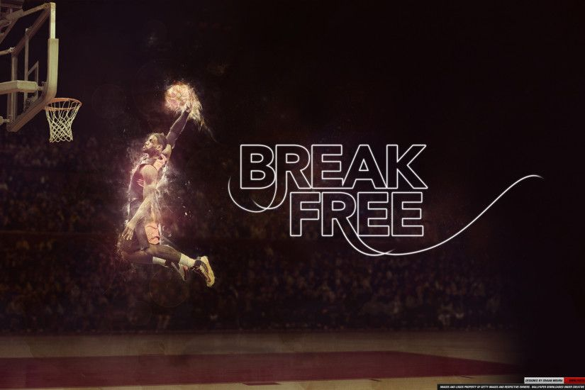LeBron James Dunk Wallpaper HD