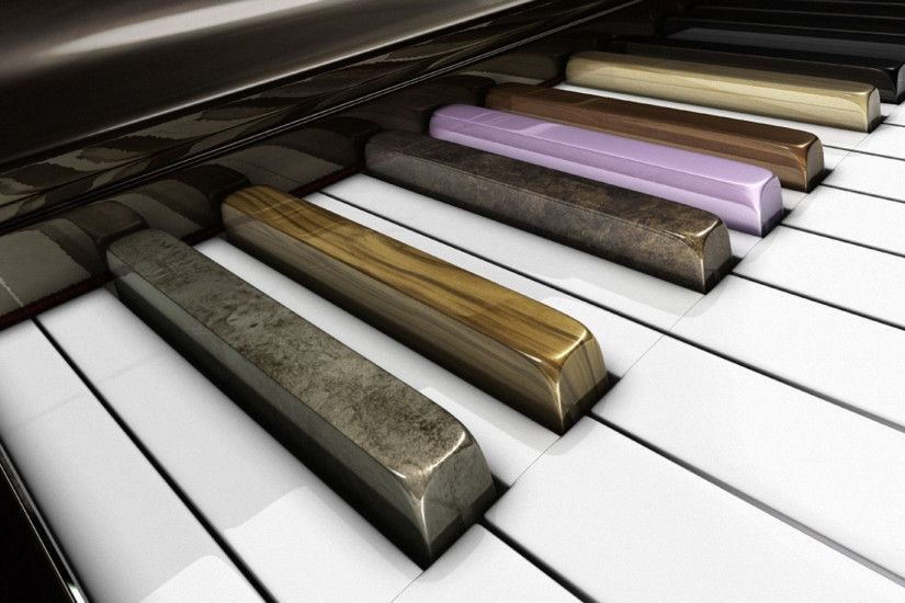 1920x1080 Wallpaper piano, musical instrument, key