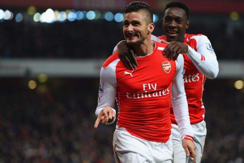 Danny Welbeck expected to start ahead of Olivier Giroud against Man United