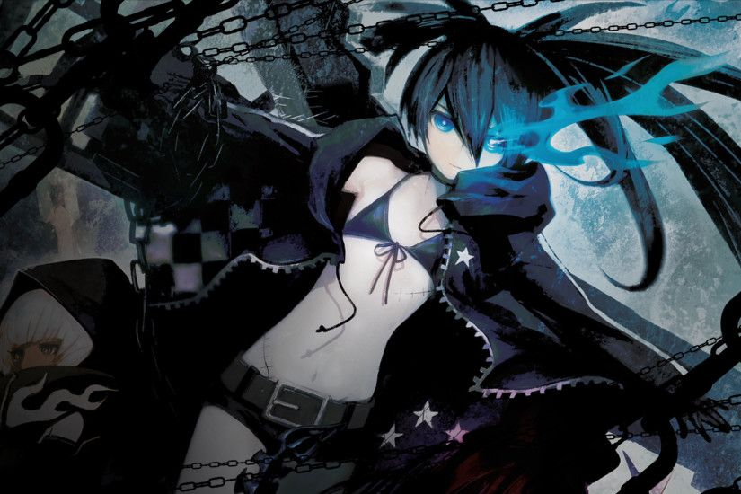 View Fullsize Black☆Rock Shooter (Character) Image