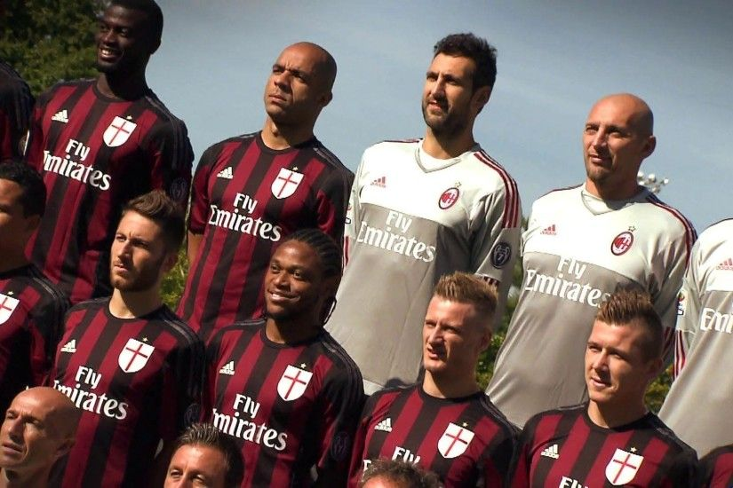 Official Team Photo 2015/16 | AC Milan Official - YouTube