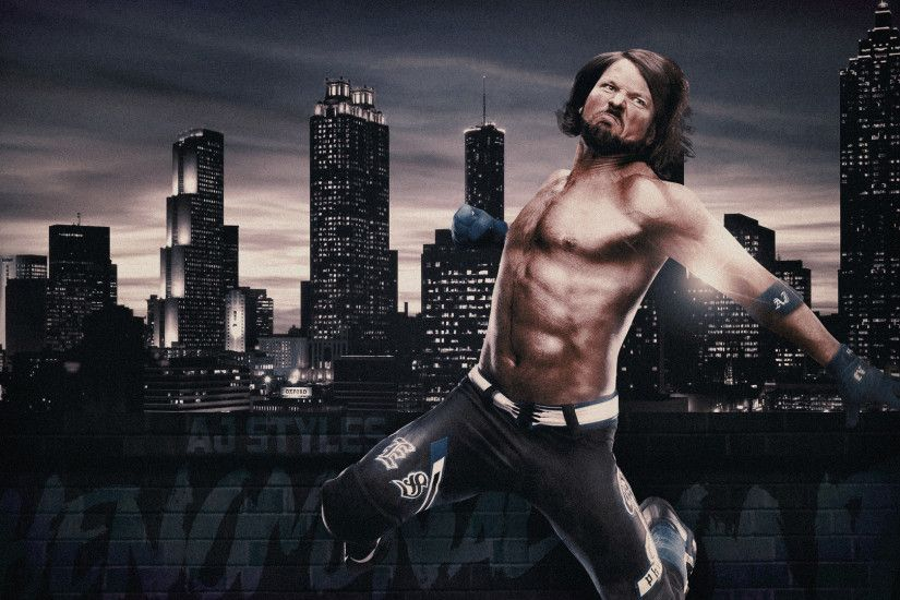AJ Styles Desktop Wallpaper by RhyseUp AJ Styles Desktop Wallpaper by  RhyseUp