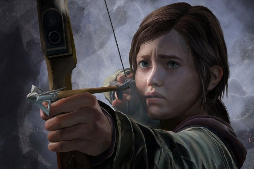 Preview wallpaper the last of us, ellie, girl, bow, arrow 3840x2160