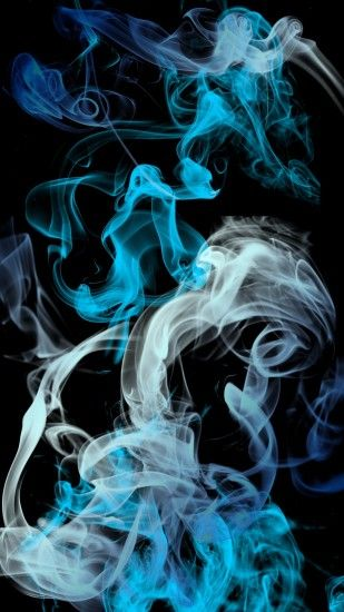 blue grey black smoke background iphone retina