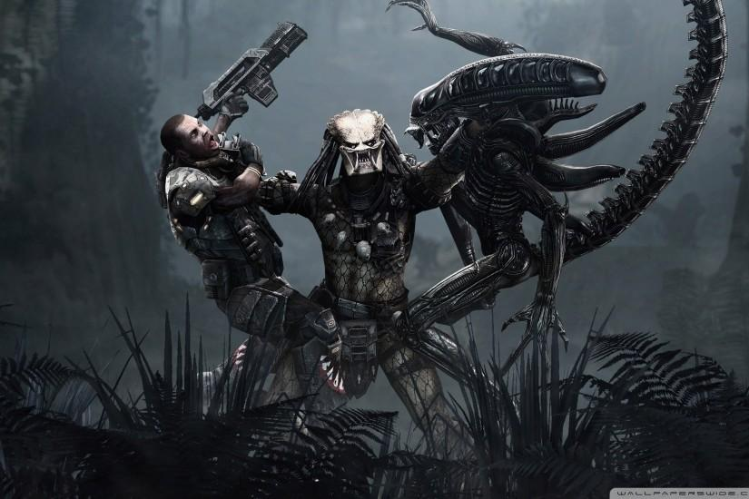 Alien Vs Predator Wallpaper 551143