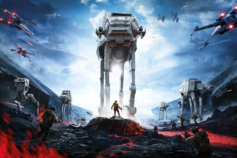 download star wars battlefront wallpaper 2560x1373 high resolution