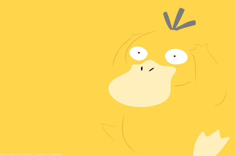 Psyduck Pokemon HD Wallpaper
