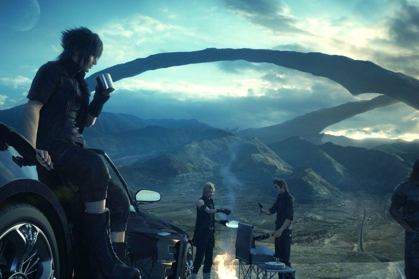 89 Final Fantasy XV HD Wallpapers | Backgrounds - Wallpaper Abyss
