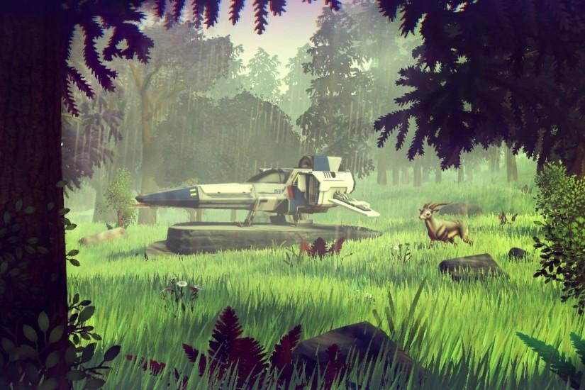 NO MANS SKY sci-fi adventure procedural 1noms exploration survival fpa .