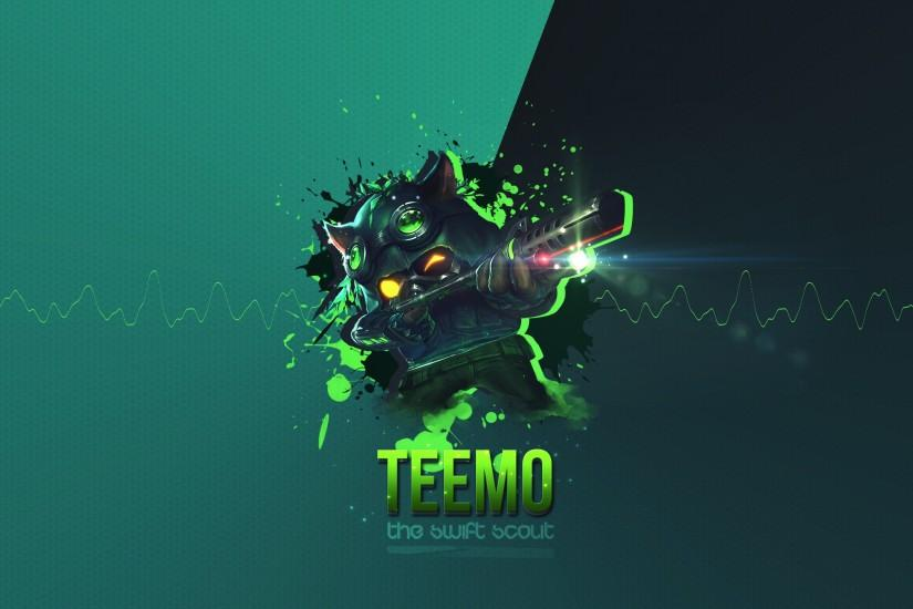 Omega Squad Teemo wallpaper