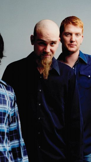 1080x1920 Wallpaper queens of the stone age, bald, beard, clothes, hat