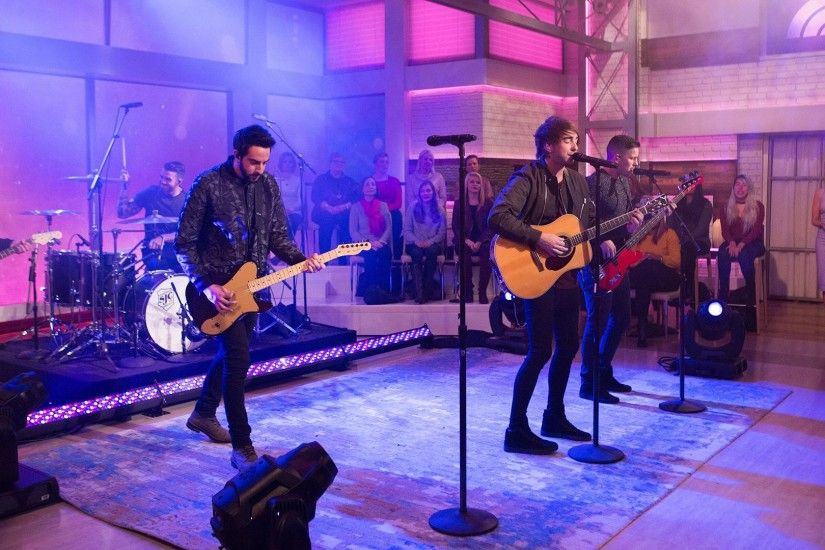 Watch All Time Low perform 'Good Times' live on Megyn Kelly TODAY -  TODAY.com