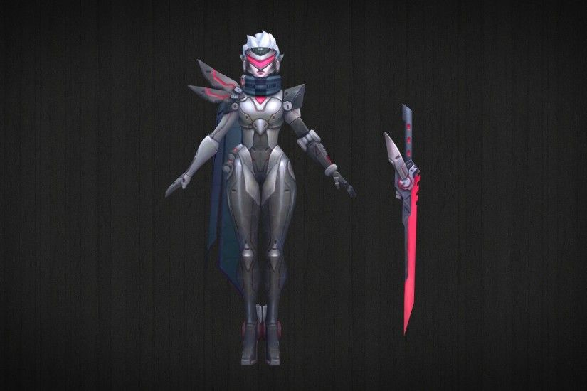 ... PROJECT Fiora - 3D Model + DL by LoL3DModels