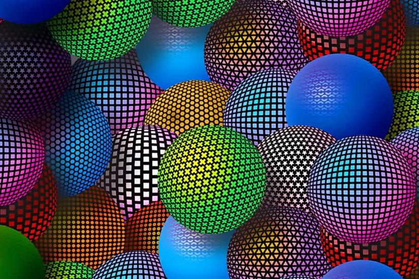Amazing colors glass 3D backgrounds.