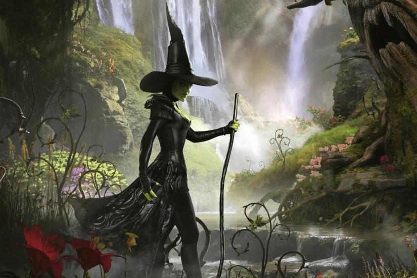 Artwork Fantasy Nature Witch Wallpaper