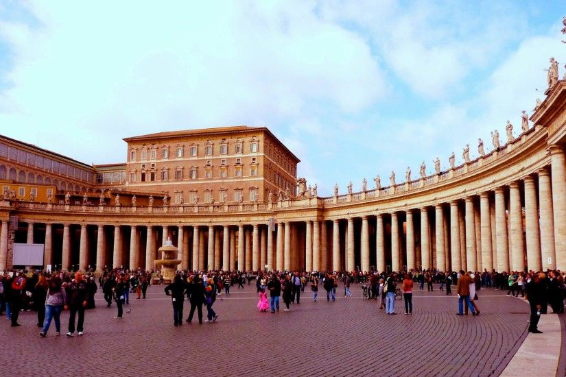 Apostolic Palace Vatican - HD Travel photos and wallpapers
