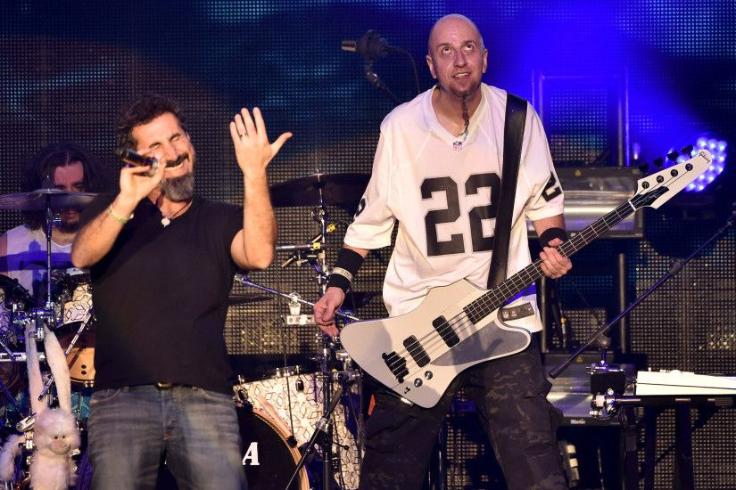 System Of A Down perform in Armenia for the first time to mark .