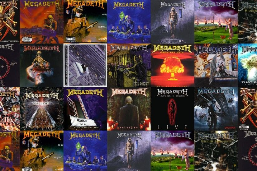 Download this free wallpaper with images of Megadeth – Killing Is My  Business… And Business Is Good, Megadeth – Peace Sells, Megadeth – So Far  So Good So ...
