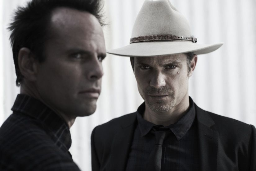 Walton Goggins images Walton Goggins as Boyd Crowder and Timothy Olyphant  as Raylan Givens in Justified HD wallpaper and background photos