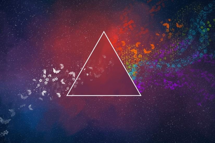 abstract triangle wallpaper 8494