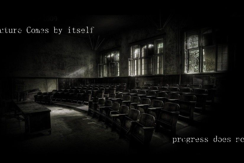 1920x1080 Wallpaper room, emptiness, loneliness, mood, gray, hall