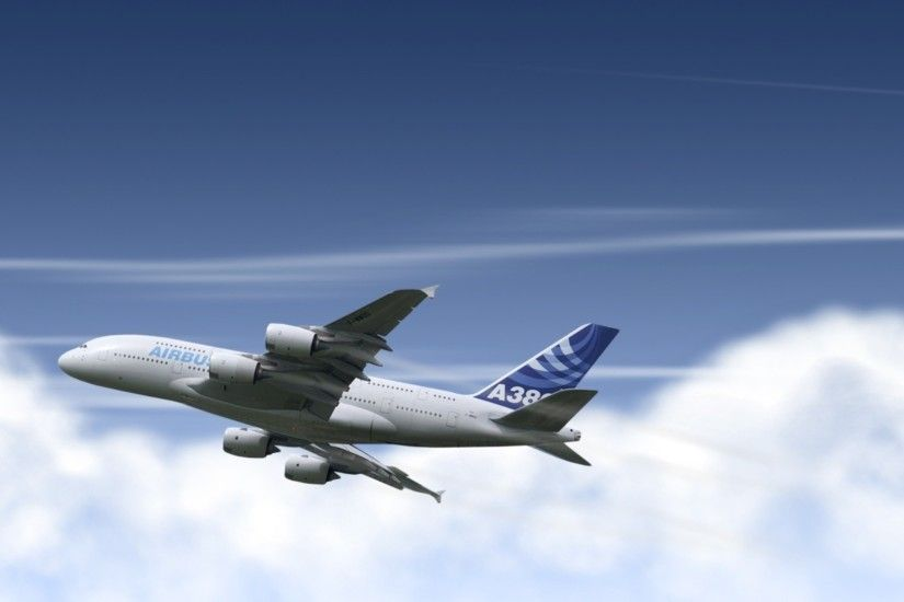Airbus A380 [4] wallpaper