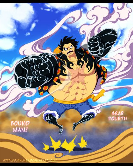 One piece 784 ~ Gear Fourth by DarkMaza