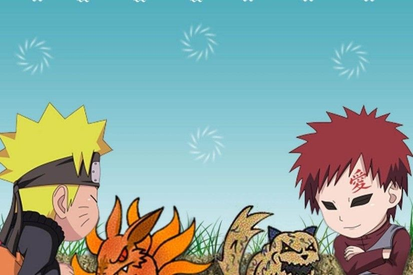 Chibi Naruto Shippuden Gaara Wallpaper 2048x1152 | Hot HD Wallpaper