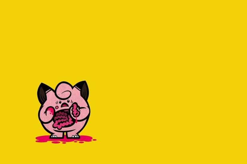Eviscerated Jigglypuff; jigglypuff