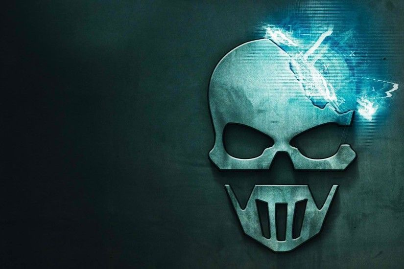 Video Game - Tom Clancy's Ghost Recon: Future Soldier Ghost Reccon Game  Logo Skull Wallpaper