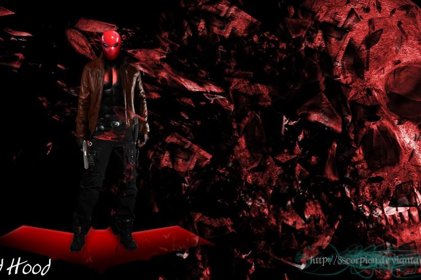 Red Hood Batman wallpaper by 8scorpion Red Hood Batman wallpaper by  8scorpion