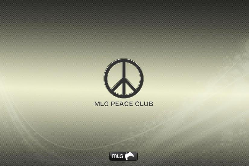 MLG Peace Club Wallpaper by creynolds25 ...