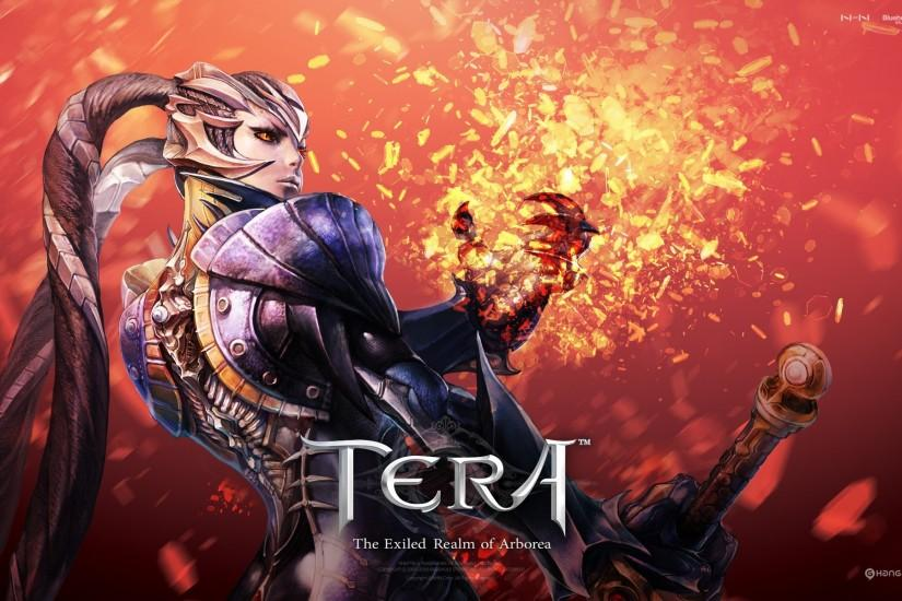 The warrior of video games Tera