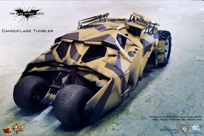 Re: Hot Toys - MMS184 - The Dark Knight Rises: Tumbler (Camouflage Version)
