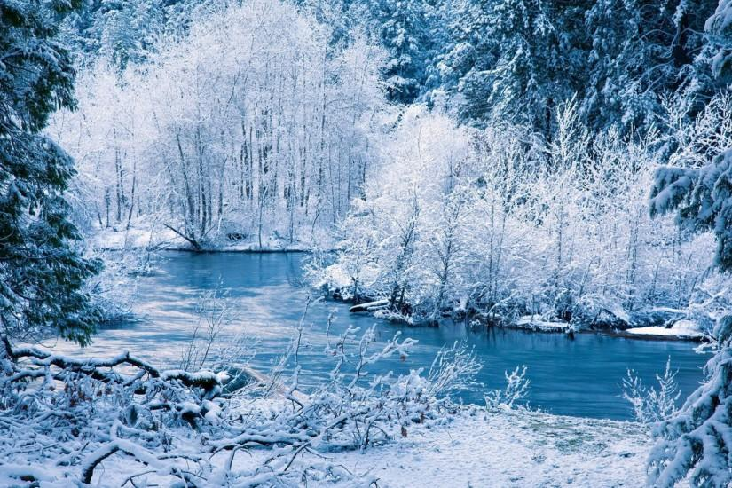 Winter Landscape Wallpapers - Wallpaper Cave