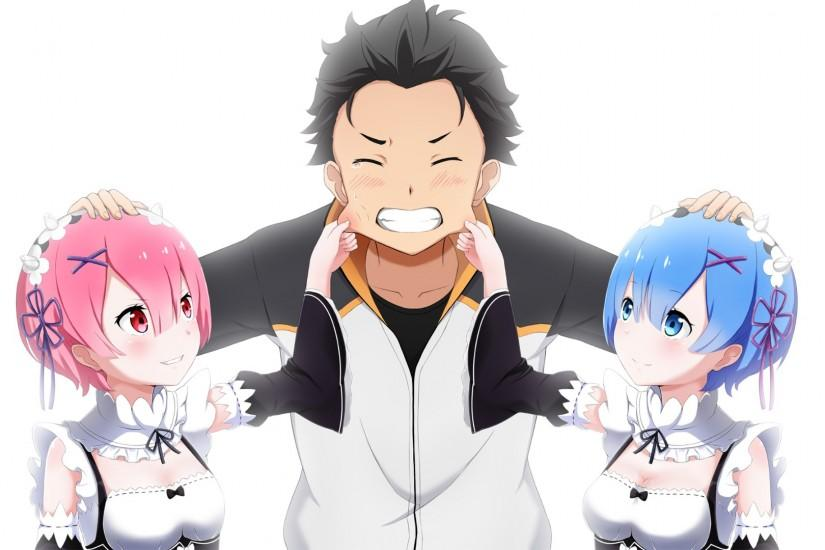 vertical re zero wallpaper 1920x1080 for mac
