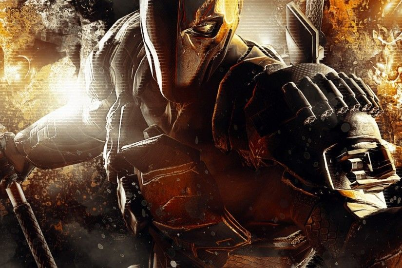 Preview wallpaper deathstroke, dc comics, batman, arkham origins 2048x2048