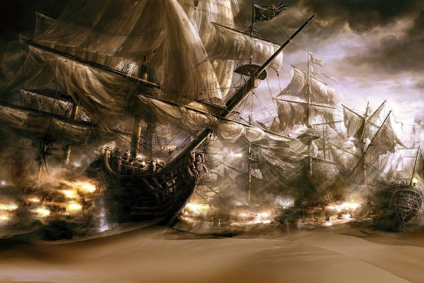 Ghost Pirate Ship Images As Wallpaper HD