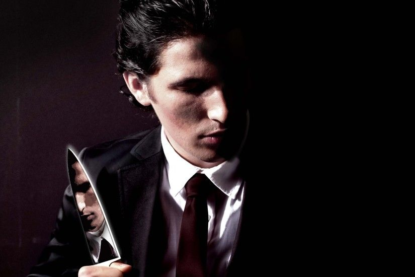 Preview wallpaper american psycho, christian bale, patrick bateman 3840x2160